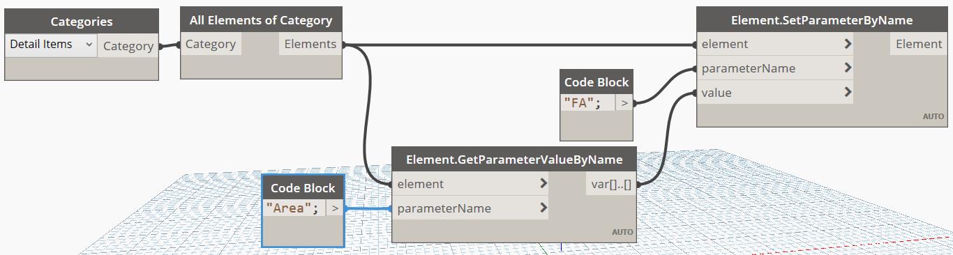 Copy Filled Region Area using Dynamo
